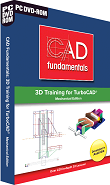 CAD Fundamentals 3D Training DVD-ROM for TurboCAD Mechanical Edition