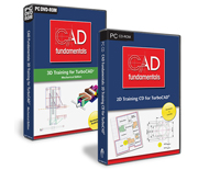 CAD Fundamentals 2D/3D Training Bundle