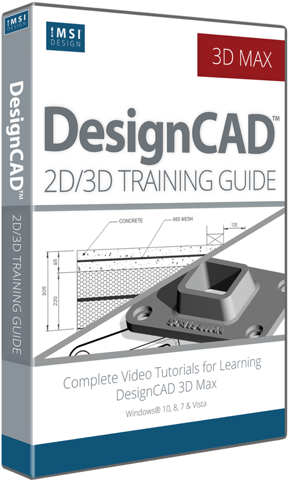 DesignCAD 2D/3D Training Bundle