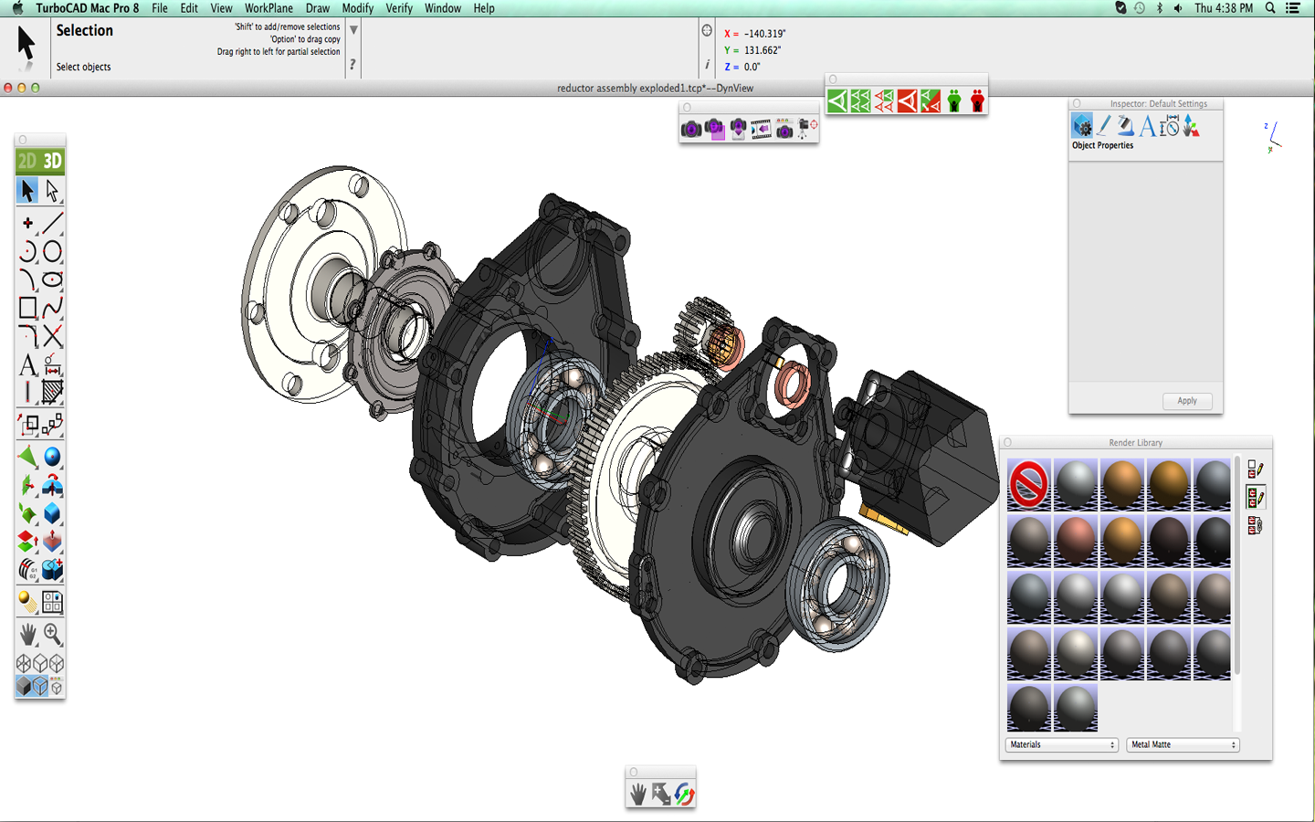 Drawing gears - TurboCAD MAC