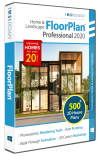 FloorPlan Home & Landscape Pro 2020 with Lightworks