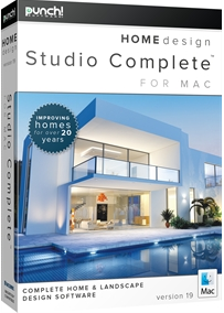 Punch! Home Design Studio Complete for Mac v19