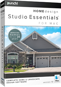 Punch! Home Design Studio Essentials for Mac v19