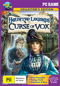 Haunted Legends Curse of Vox Collector's Edition