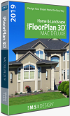 TurboFloorPlan Home & Landscape Deluxe 2019 Mac