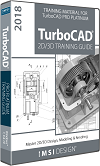 2D/3D Training Guide Bundle for TurboCAD Pro Platinum 2018