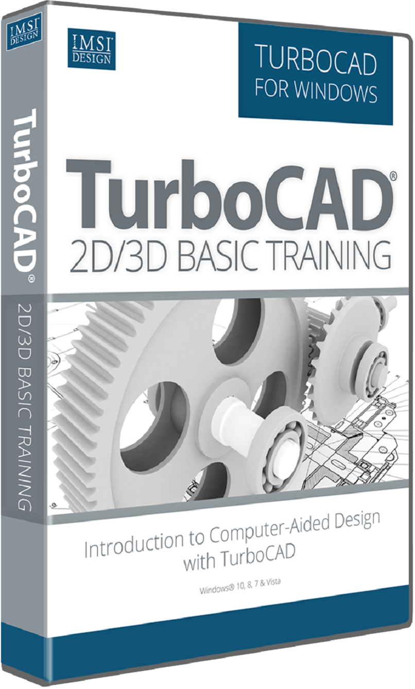 2D/3D Basic Training for TurboCAD 2017