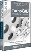 2D/3D Basic Training Guide Bundle for TurboCAD 2018