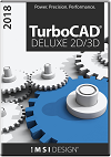 TurboCAD Deluxe 2018 Upgrade