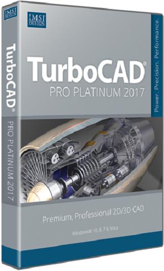 TurboCAD Pro Platinum 2017