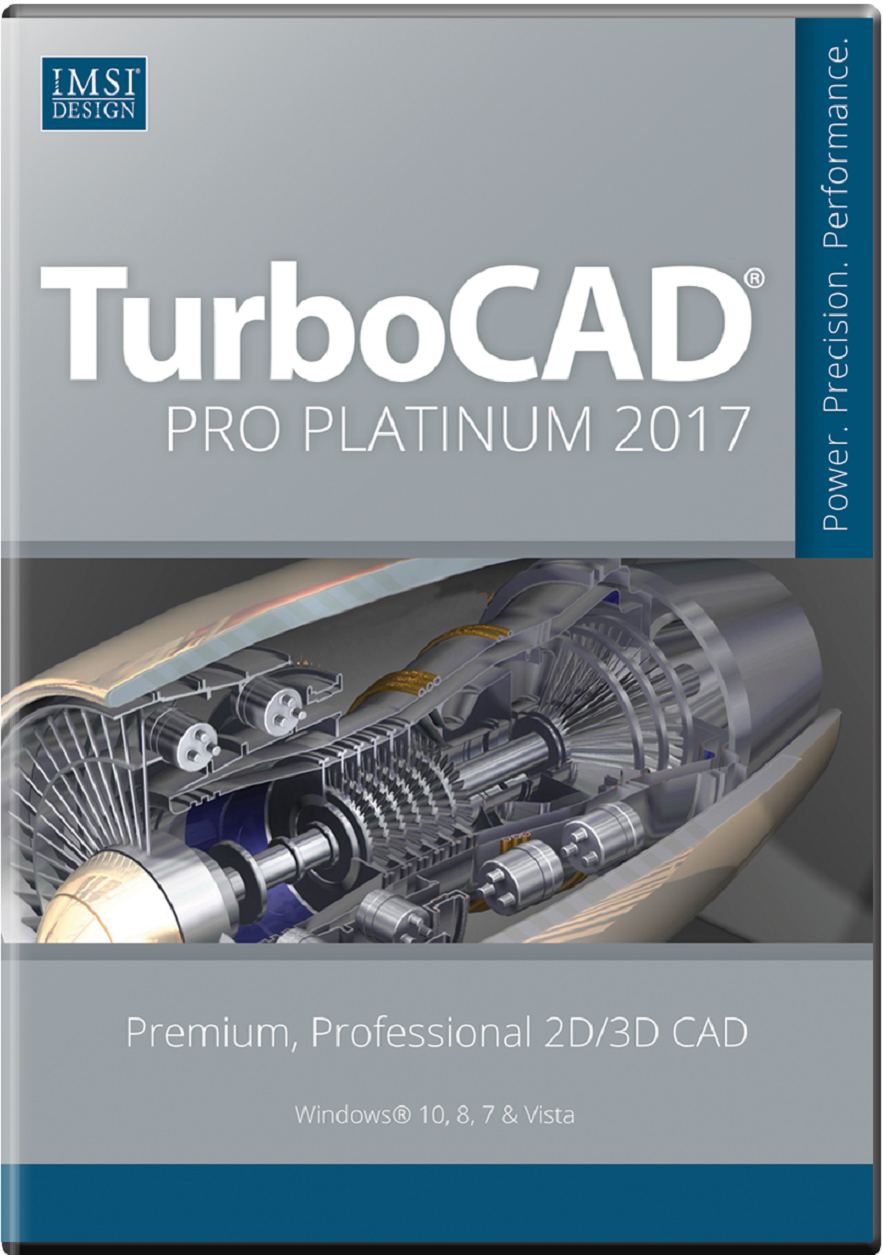 TurboCAD Pro Platinum 2017 Upgrade from Pro/Platinum Others