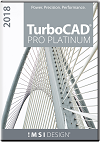 TurboCAD Pro Platinum 2018 Upgrade from Pro/Platinum Others