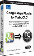 Google Maps Plug-In for TurboCAD