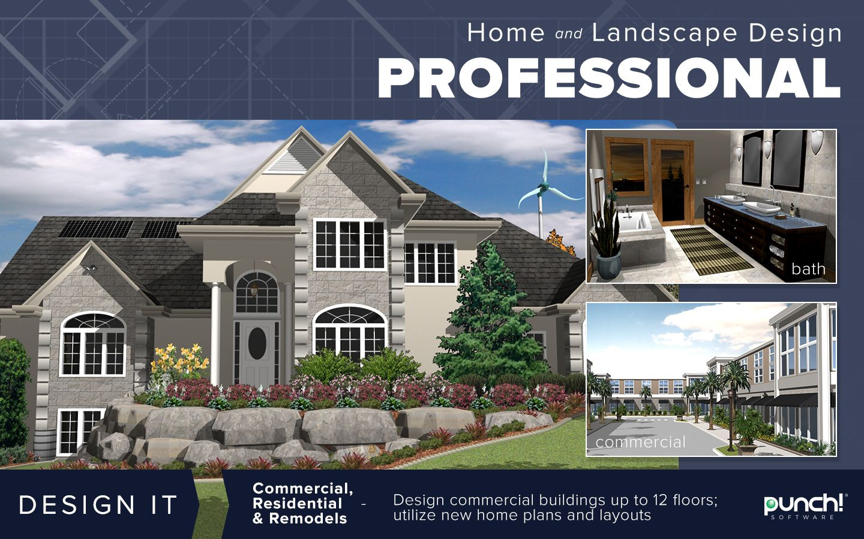 Punch Home Landscape Design Professional V20 Mindscape Software