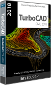 Civil Design Suite for TurboCAD 2018