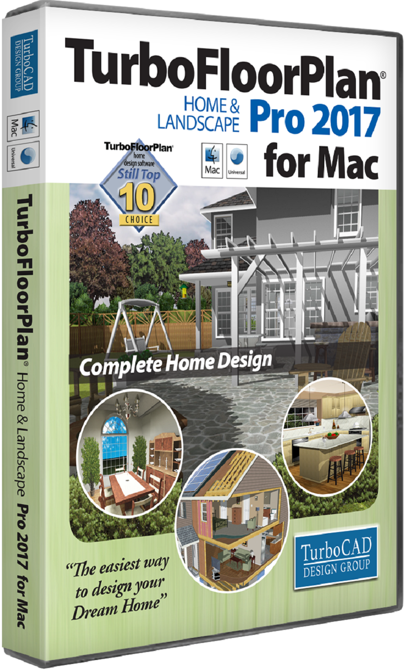 TurboFloorPlan Home and Landscape Pro Mac 2017