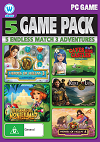 Endless Match 3 Adventures - 5 Game Pack