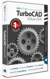 TurboCAD Deluxe 2020 Upgrade