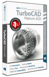 TurboCAD Platinum 2020 Upgrade from v2019