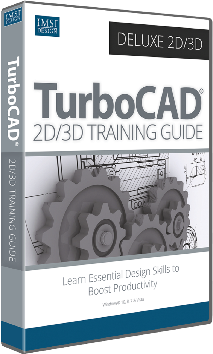 2D/3D Training Guide Bundle for TurboCAD 2017 Deluxe & Expert