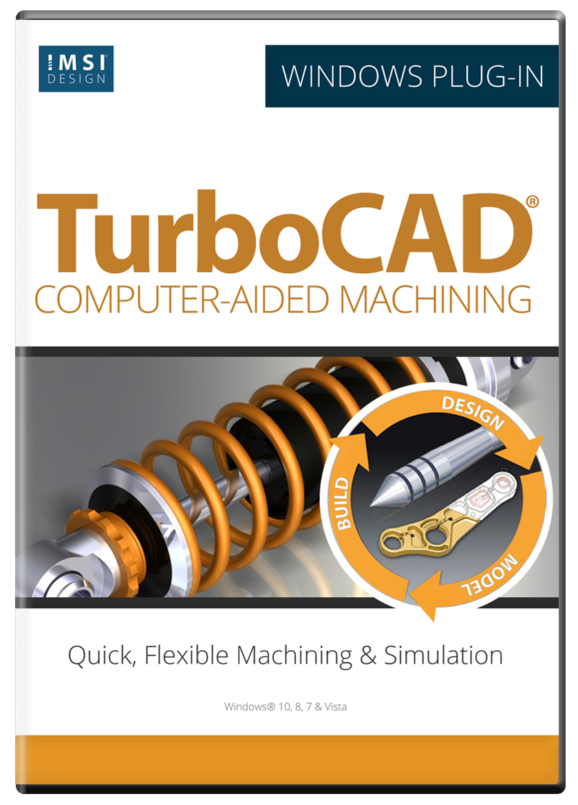 CAM Plug-in for TurboCAD 2019 & 2020