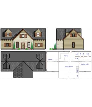 DesignCAD Home design